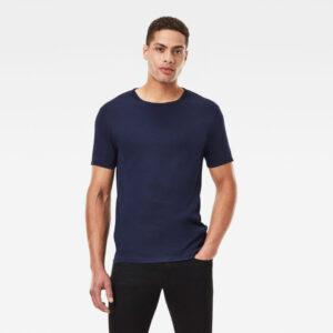 Base T-Shirt 2-Pack - Dark blue - Men