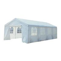 Bentley Garden 8m x 4m Marquee Wedding/Party Tent Gazebo - White