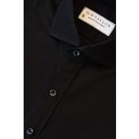 Black Marcella Evening Bespoke Shirt - 6+