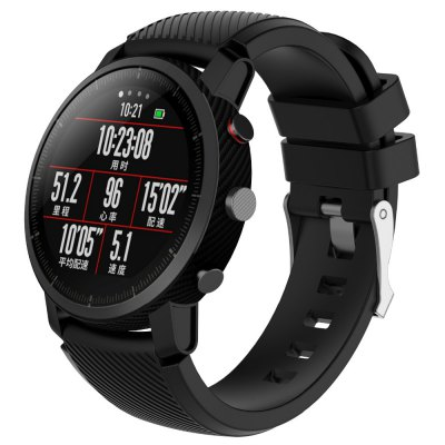 Bracelet de Montre en Silicone pour AMAZFIT Stratos 2/2S