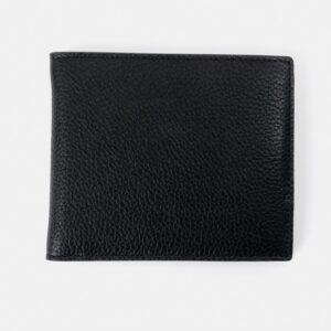 Cambridge Satchel The Billfold Wallet - Black & Taupe Grain