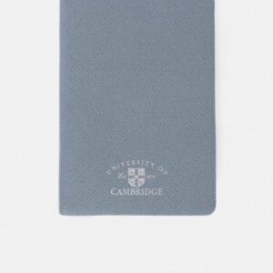 Cambridge Satchel The University of Cambridge A5 Notebook - French Grey Saffiano