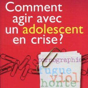 Comment agir avec un adolescent en crise