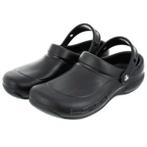 Crocs Bistro Safety Rated Clog Black - Size 12 47/48