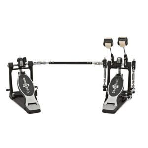 Double Kick Drum Pedal with Floorplate