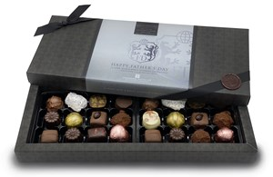 Father's Day 24 Chocolate Gift Box - Personalised 24 Box Milk