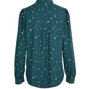 Green Star Long Sleeve Shirt New Look