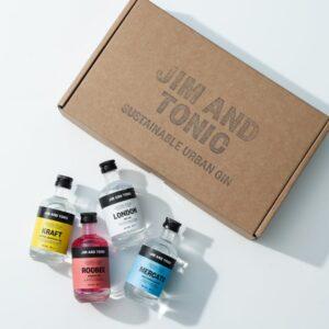 Jim and Tonic mini gin selection box