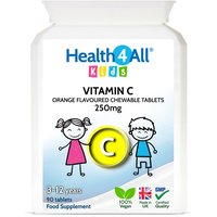 Kids Vitamin C 250mg Chewable Tablets (Units: 90 Tablets (V))