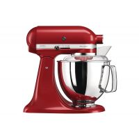 KitchenAid 5KSM175PSBER Artisan Stand Mixer Empire Red
