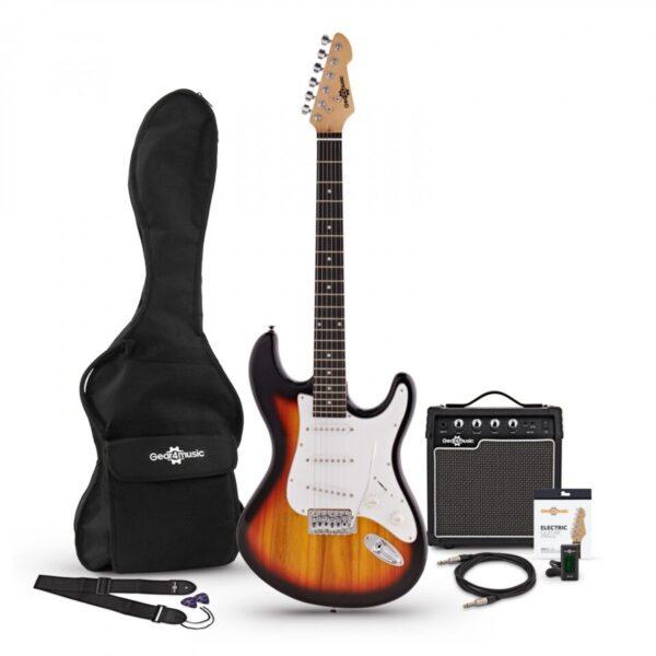 LA Electric Guitar + Amp Pack Sunburst