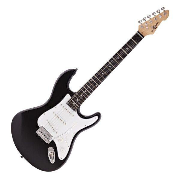 LA Electric Guitar by Gear4music Black