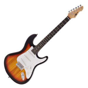 LA Electric Guitar by Gear4music Sunburst