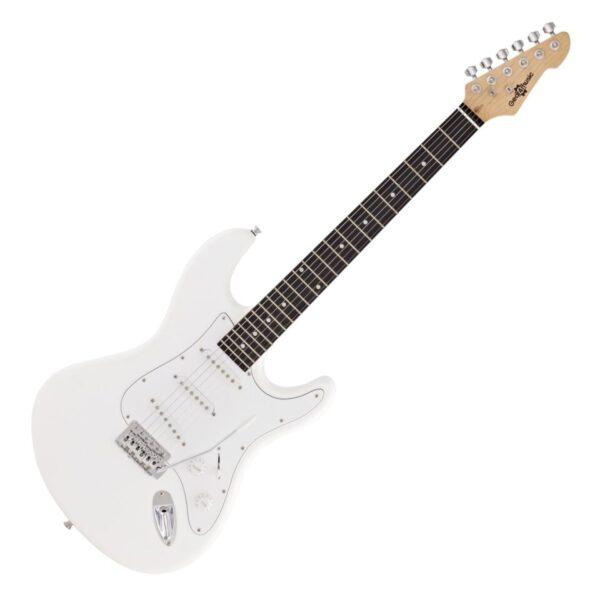 LA Electric Guitar by Gear4music White