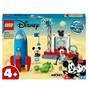 LEGO 4+ Mickey Mouse & Minnie Mouse's Space Rock Toy (10774)