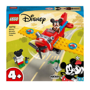 LEGO 4+ Mickey Mouse's Propeller Plane Toy (10772)