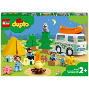 LEGO DUPLO Town Family Camping Van Adventure Toy for Toddlers (10946)