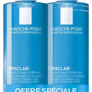 La Roche-Posay Effaclar Purifying Foaming Gel 2x - (400ml)