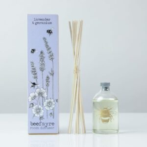 Lavender and Geranium Large Bee Room Diffuser