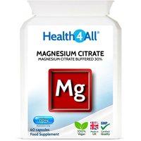 Magnesium Citrate 30% 250mg Capsules (Units: 60 Capsules (V))