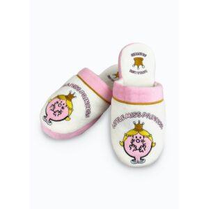 Mr Men & Little Miss - Miss Princess Slippers UK Size 5-7