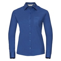 Russell 936F long sleeve cotton blouse.