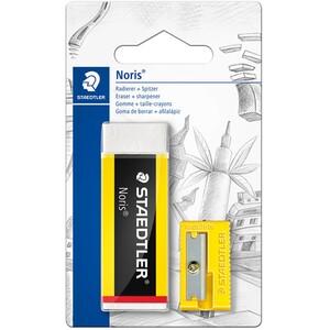 Staedtler Noris Eraser and Sharpener Set