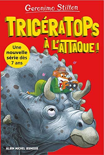 Tricératops à l'attaque !: Sur l'île des dinosaures - tome 2 (A.M. GS POCHE)