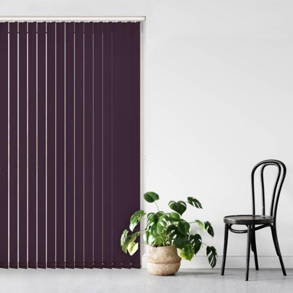Unilux PVC Blackout Aster Purple