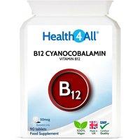 Vitamin B12 Cyanocobalamin 50mcg Tablets (Units: 90 Tablets (V))