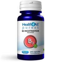 Vitamin B3 Nicotinamide (Niacinamide) 500mg Capsules (Units: 240 Capsules (V))