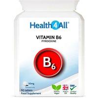 Vitamin B6 Pyridoxine 50mg Tablets (Units: 90 Tablets (V))