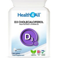 Vitamin D3 Cholecalciferol 5,000iu Tablets (Units: 360 Tablets)