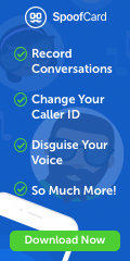 Spoofcard, fake you caller ID