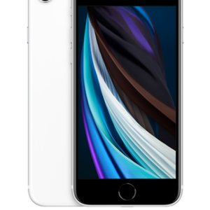 Apple iPhone SE (2020) (64GB White Pre-Owned Grade A) at £9 on Pay Monthly 100GB + 2 Xtra Benefits + Entertainment (36 Month contract) with Unlimited mins & texts; 100GB of 5G data. £44 a month.