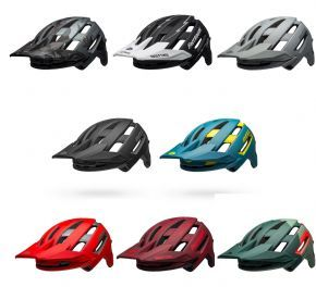 Bell Super Air Mips Mtb Helmet 2021 Small 52cm - 56cm - FASTHOUSE MATTE BLACK/WHITE