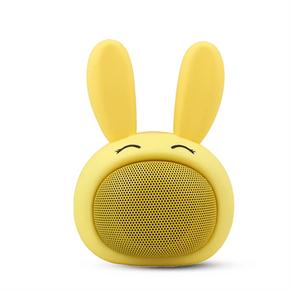 Caixa de som Bluetooth coelho de alta frequência Fun - Amarelo