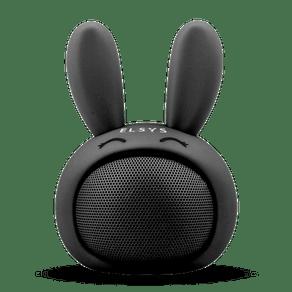 Caixa de som Bluetooth coelho de alta frequência Fun - Preto