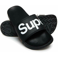 Classic Pool Black Sliders - M