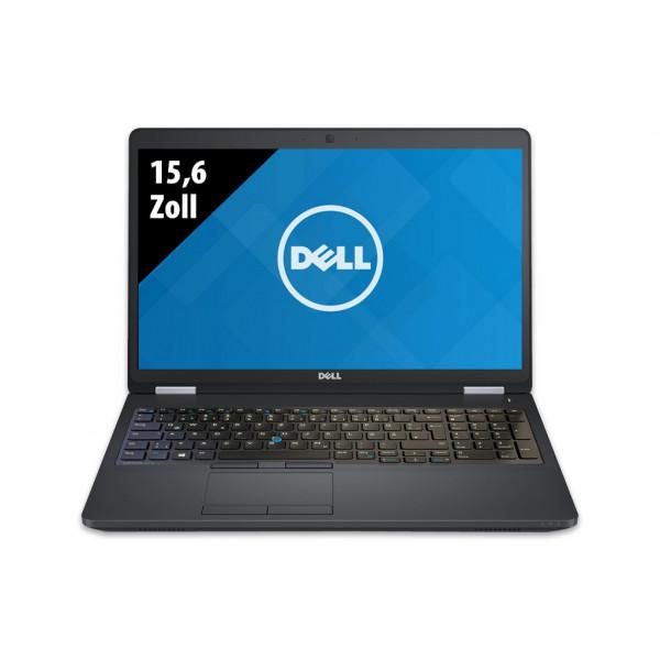 Dell Latitude E5570 - 15,6 Zoll - Core i5-6300U @ 2,4 GHz - 16GB RAM - 500GB SSD - FHD (1920x1080) - Webcam - Win10Pro
