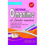 Dictionar de omonime al limbii romane - M. E. Iacobescu