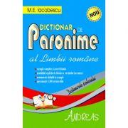 Dictionar de paronime al limbii romane (M. E. Iacobescu)