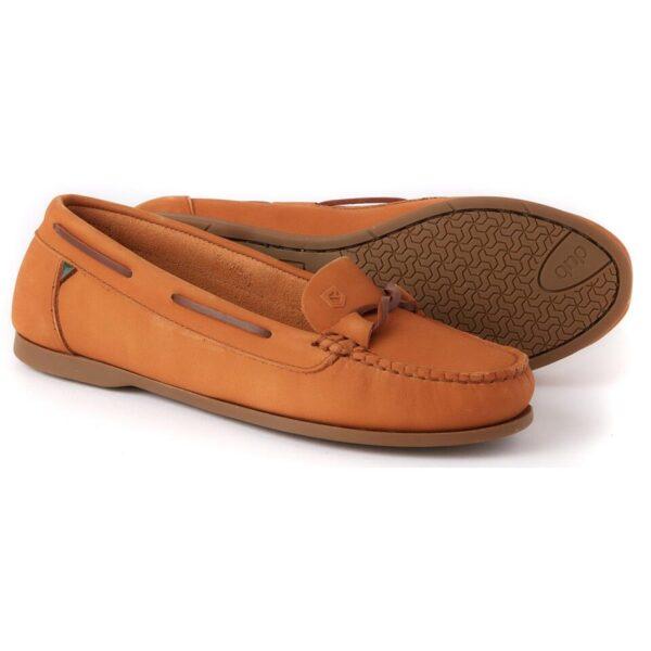 Dubarry Womens Rhodes Deck Shoe Caramel 4 (EU37)