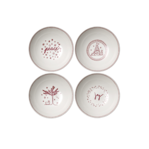 ED Holiday Cereal Bowls (Set of 4)