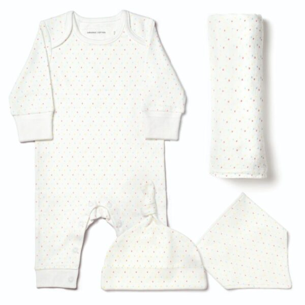 Fortnum & Mason From Babies With Love First Kisses Gift Pouch 6-12 Months