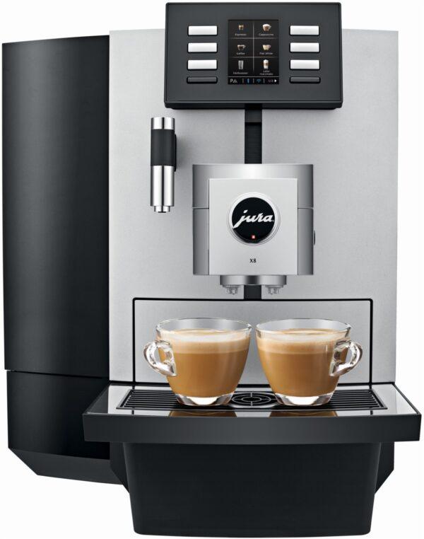JURA X8 Professional Kaffee-Vollautomat platin
