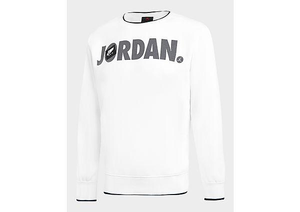 Jordan Jumpman Crew Sweatshirt Junior - White - Kids, White