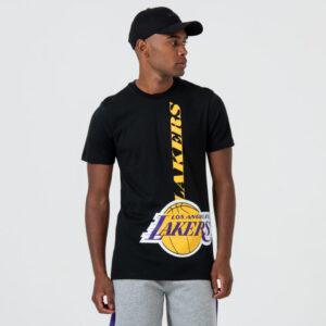 LA Lakers Logo Black T-Shirt