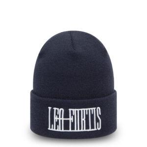 Leo Fortis Navy Cuff Beanie Hat