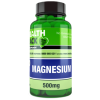 Magnesium 500mg Tablets 3x60 Tablets Refill Pack